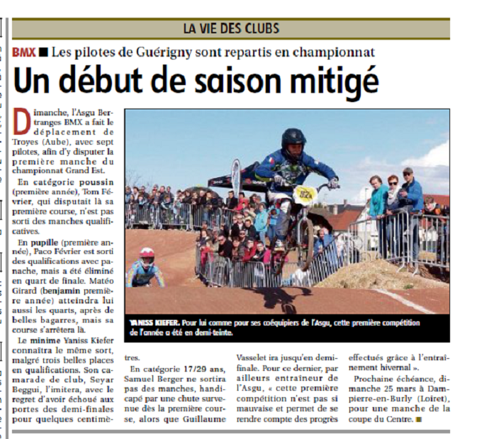 article JDC TROYES